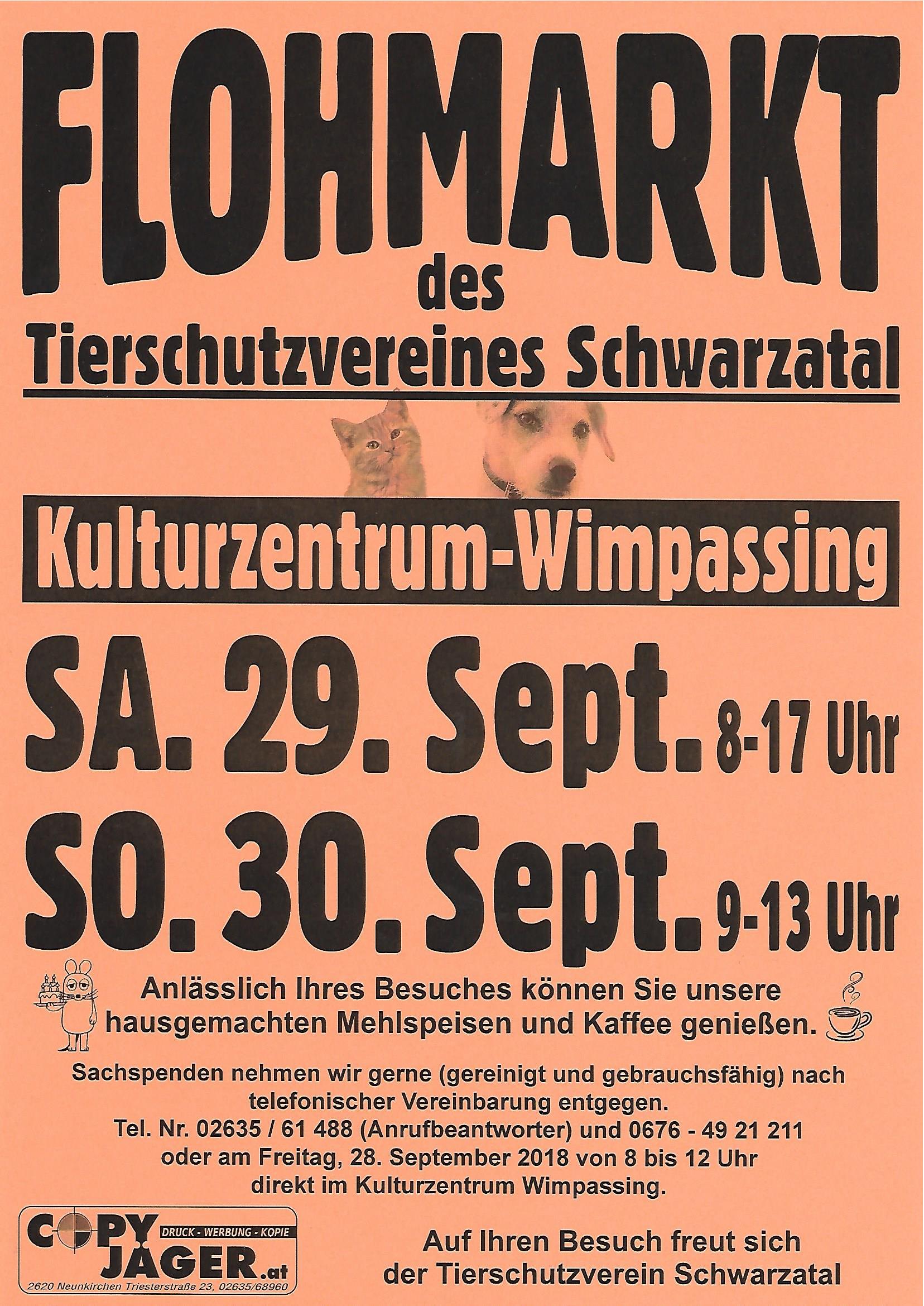 Flohmarkt Sept. 2018
