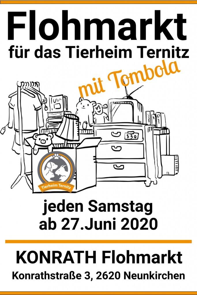 Flohmarkt für das Tierheim Ternitz_web